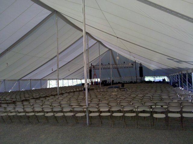 Church tent for Revival meetings